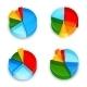 Pie Chart 3d Icons Set - GraphicRiver Item for Sale