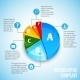 Pie Chart Web Design Infographic - GraphicRiver Item for Sale