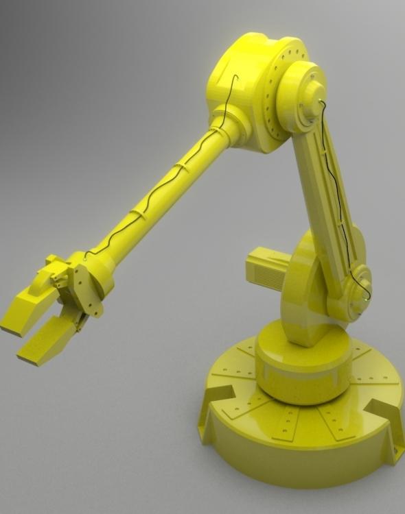 3DOcean Industrial Robot 7606773
