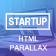 Startup Responsive Parallax Landing Page Template - ThemeForest Item for Sale