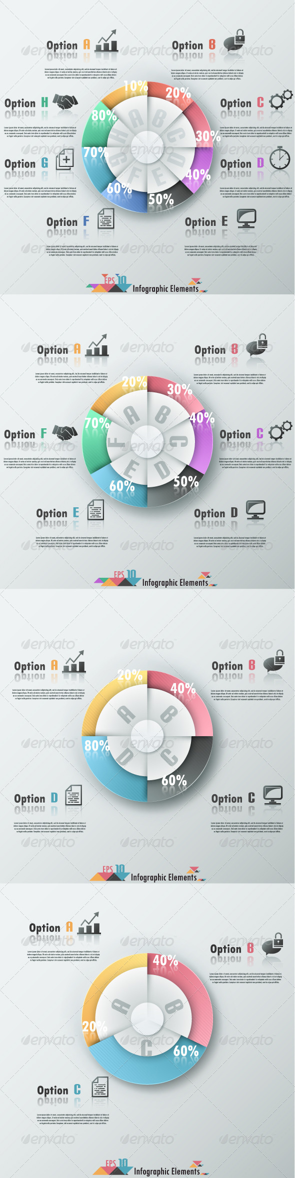 GraphicRiver Modern Infographic Banner With Pie Chart 7608321