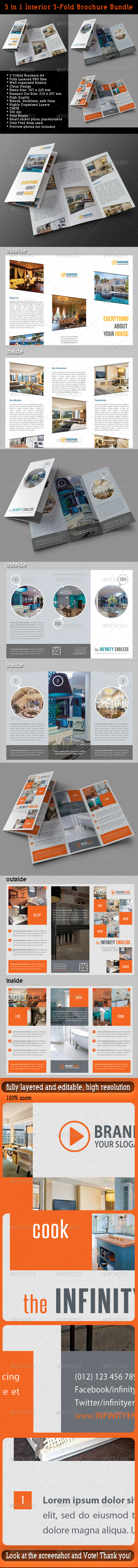 GraphicRiver 3 in 1 Interior 3-Fold Brochure Bundle 01 7608837