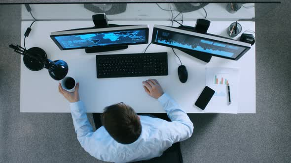 VideoHive Information Technology Specialist Working With International Servers and Internet Traffic 19478709