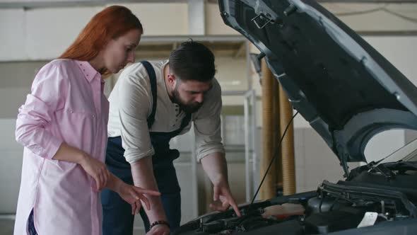 VideoHive Providing Car Service to Woman 19662862