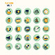 Modern Flat Icons Collection with Long Shadow - GraphicRiver Item for Sale
