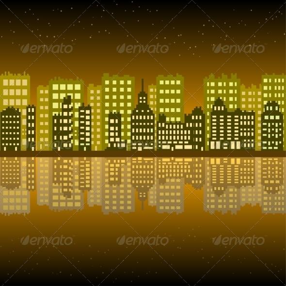 GraphicRiver Set of Pixel Buildings 7609806