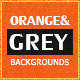 Soft Textures Backgrounds | Orange & Grey - GraphicRiver Item for Sale