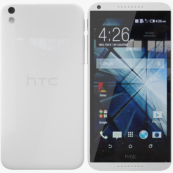 Htc Desire 816 - 3DOcean Item for Sale