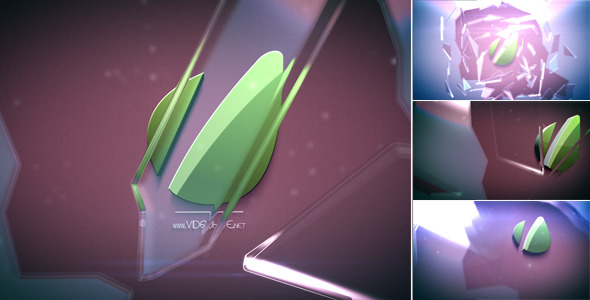 After Effects Project - VideoHive Glass Shatter 781304