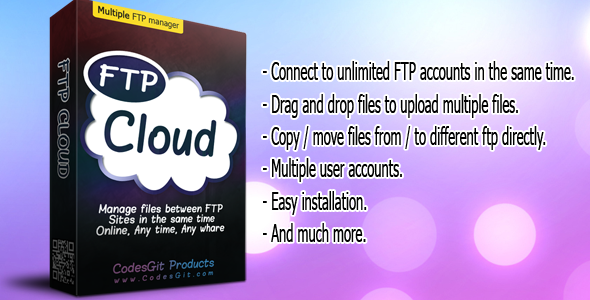 CodeCanyon FTP Cloud 7610011