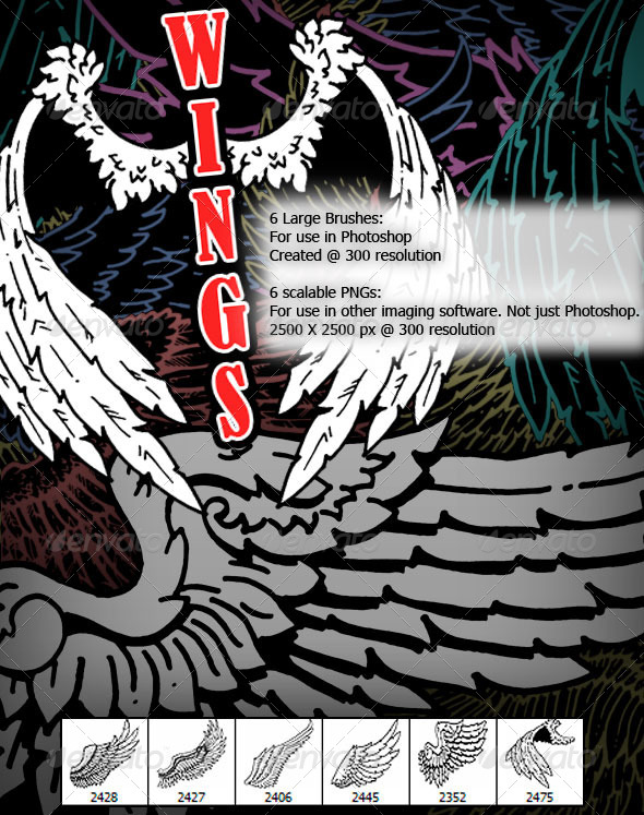 GraphicRiver Wings 7610347