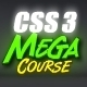 CSS3 Mega Course - 9 Hours of Training!  - Tuts+ Marketplace Item for Sale