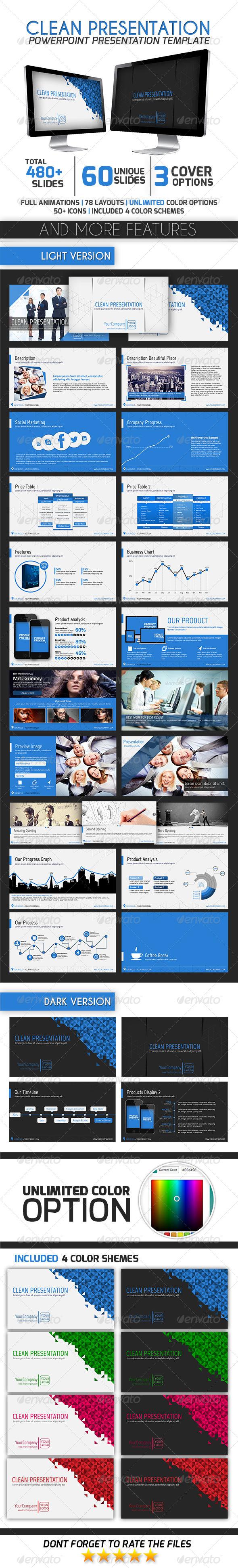 GraphicRiver Clean Presentation 7610488