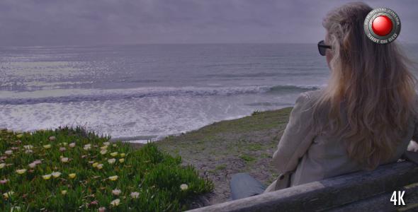 Girl & Ocean