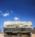 fragment of ancient ruins with lettering - PhotoDune Item for Sale