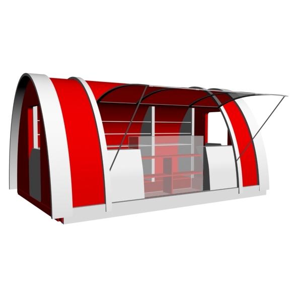 3DOcean Desighn Kiosk 2 7610920