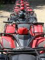 quad bikes atv in row - PhotoDune Item for Sale