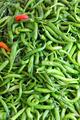 lot of green chilli peppers - PhotoDune Item for Sale