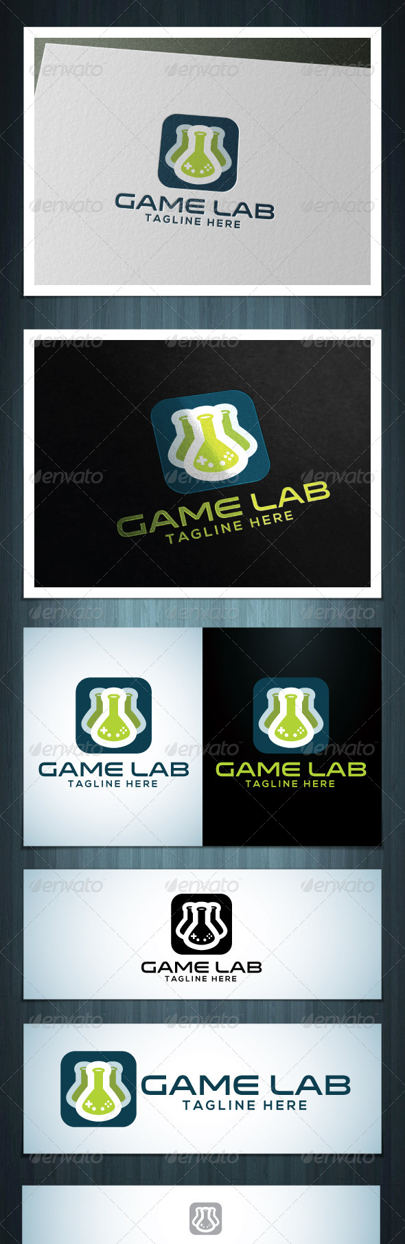 GraphicRiver Game Lab 7591893