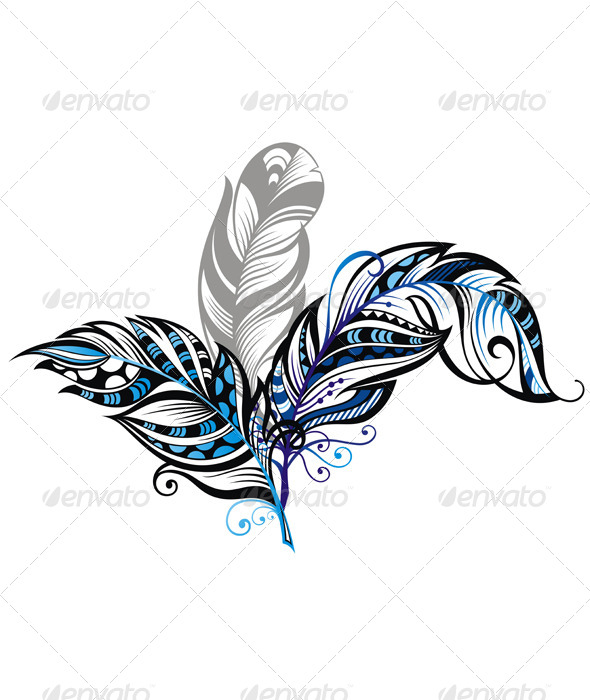 GraphicRiver Feathers 7611080