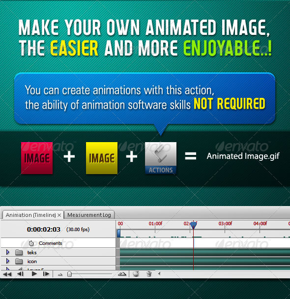 Animated Image Generator - Action - Photo Effects Actions