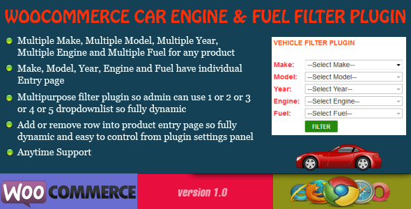 CodeCanyon WooCommerce Engine and Fuel Filter Plugin 7611753