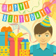 Happy Birthday Cards for Kids - GraphicRiver Item for Sale