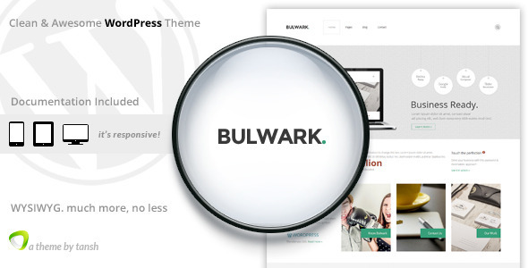Bulwark Business WordPress Theme - Business Corporate