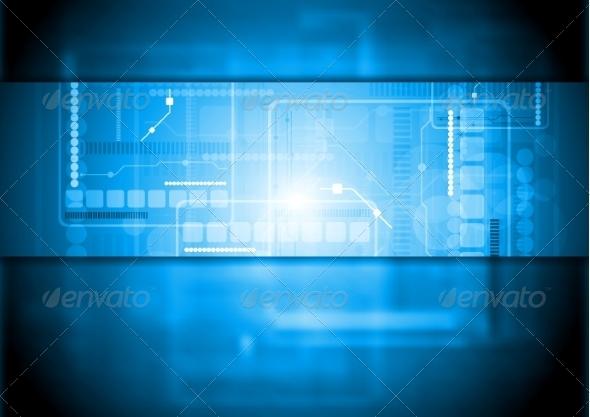 GraphicRiver Hi-Tech Background 7611904