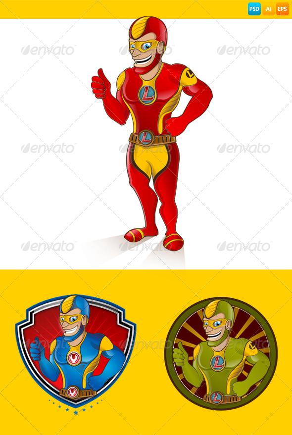 GraphicRiver Hero 7612264