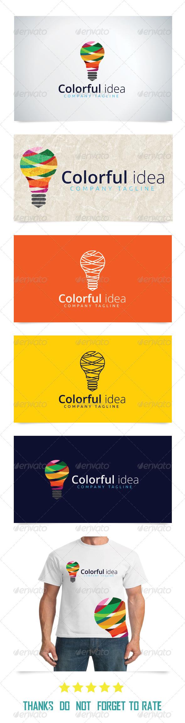 GraphicRiver Colorful Idea 7602309
