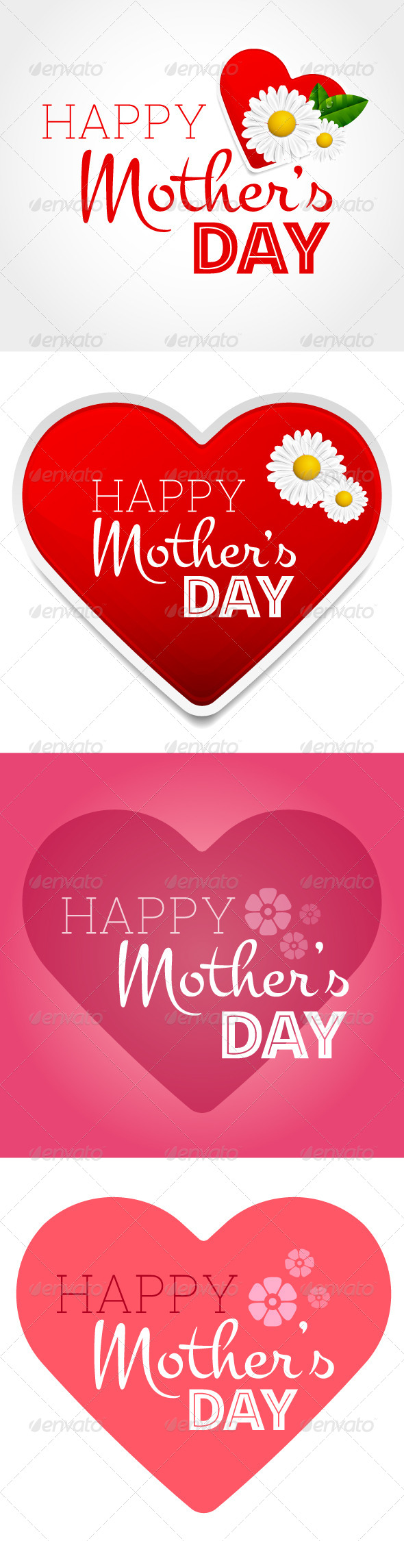 GraphicRiver Mothers Day Greeting Cards 7612438