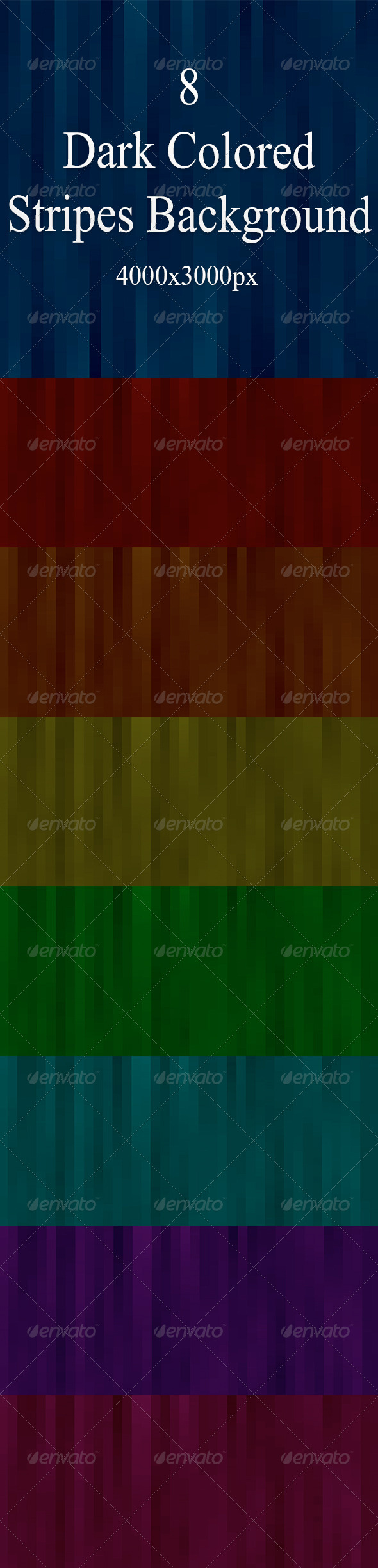 GraphicRiver Dark Stripes Background 7612593