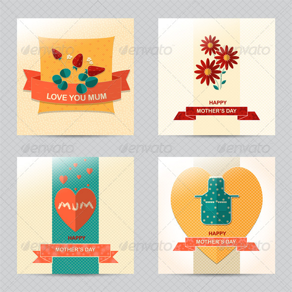 GraphicRiver Mother's Day Cards 7613259