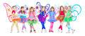 Seven little girls - PhotoDune Item for Sale