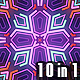 Colourful Psychedelic Patterns (10 in 1) - VideoHive Item for Sale