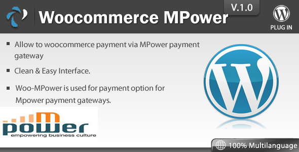 CodeCanyon WooCommerce Mpower Payment 7391268