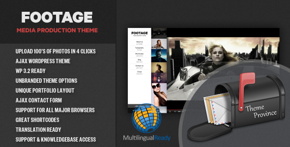Footage - A Photo & Video Production Theme