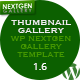 Thumbnail Gallery (WP NextGEN Gallery Template) - CodeCanyon Item for Sale