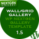 Wall/Grid Gallery (WP NextGEN Gallery Template) ($17.00 - 4)