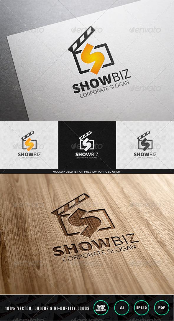 Showbiz Logo Template - Letters Logo Templates
