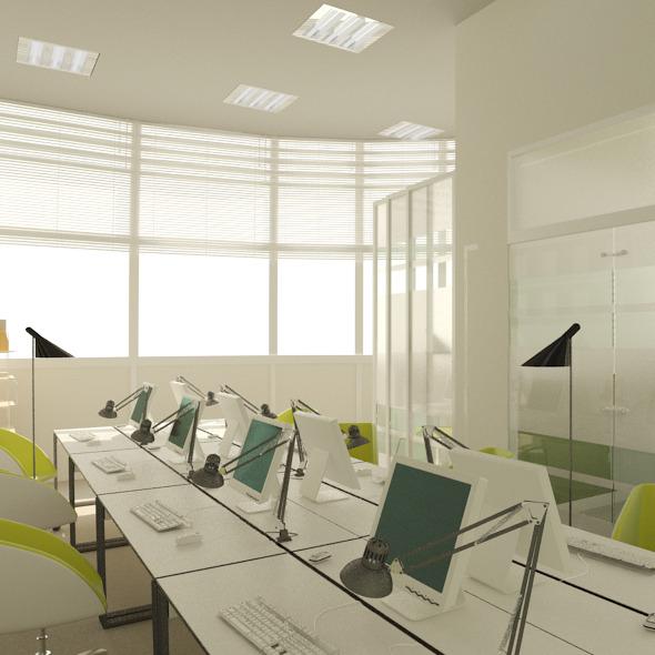 3DOcean Office Design 7614201