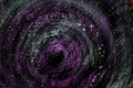 Abstract spiral over dark background - PhotoDune Item for Sale
