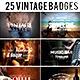Bundle - 25 Labels Badges Logo Templates - GraphicRiver Item for Sale