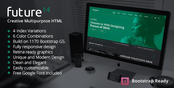 ThemeForest Future14 Multipurpose HTML Template 7614898