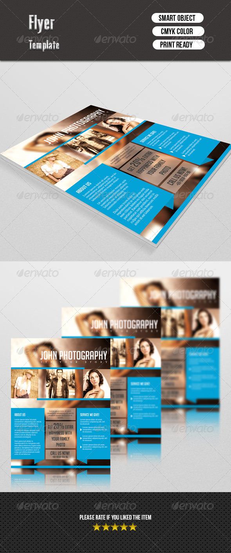 GraphicRiver Photography Studio Flyer 7615079
