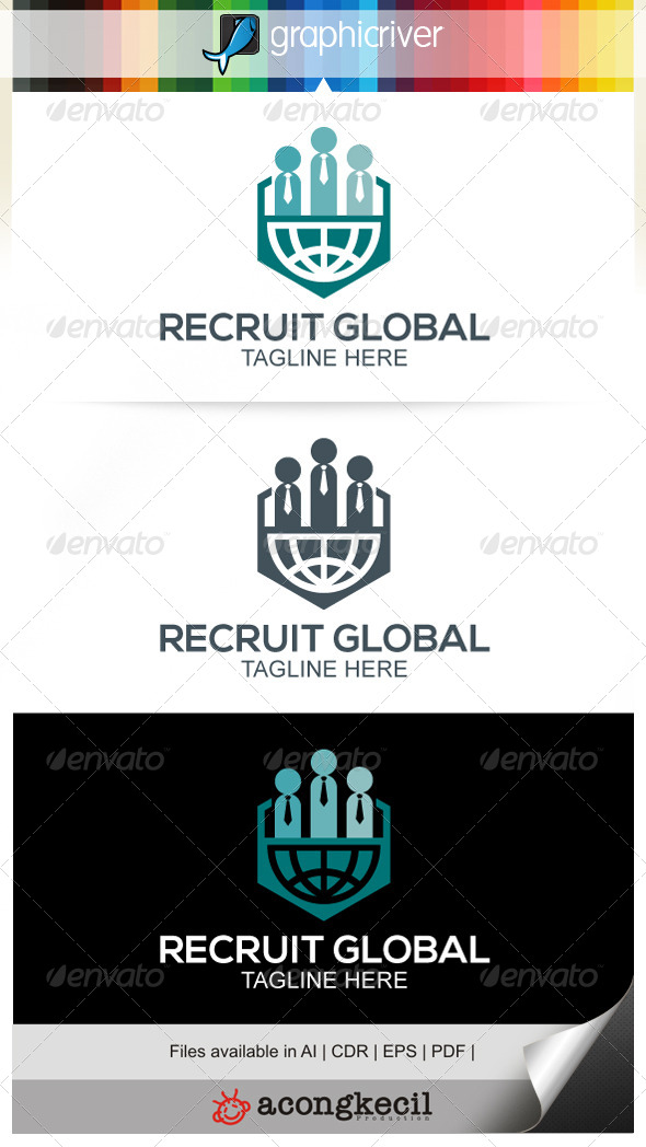 GraphicRiver Global Recruit 7615255