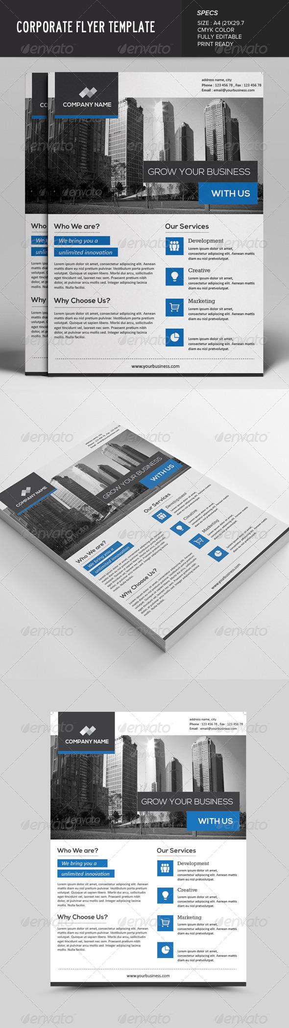 GraphicRiver Corporate Flyer 7615256