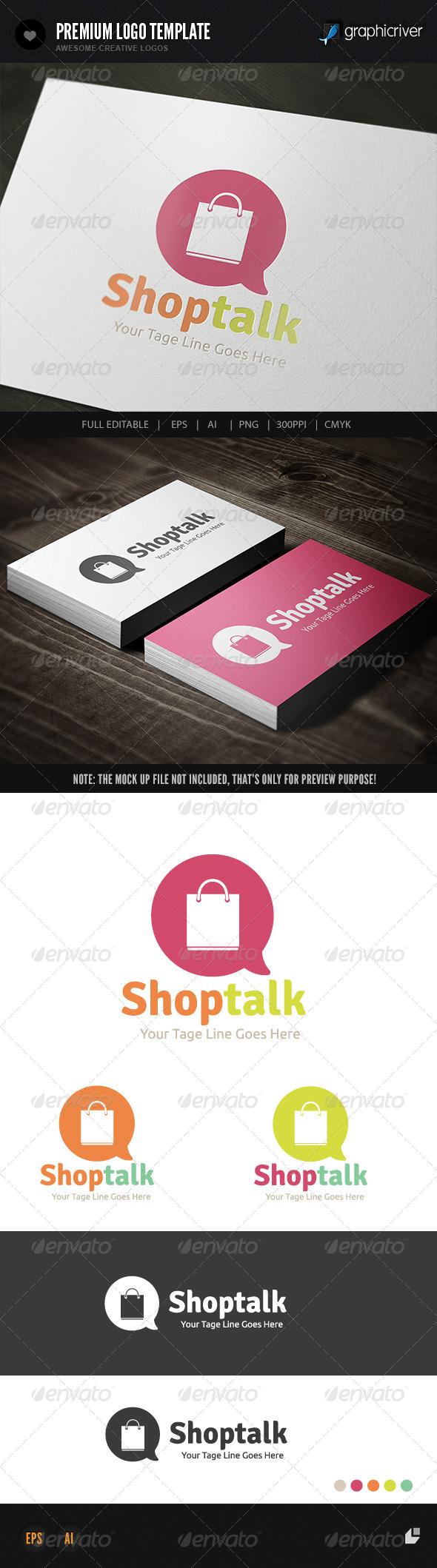 GraphicRiver Shop Talk 7615808