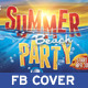 Summer Beach Party Facebook - GraphicRiver Item for Sale